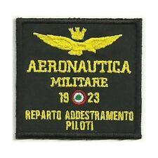 [Patch] AERONAUTICA MILITARE REPARTO ADDESTRAMENTO PILOTI cm 8 x 7,5 ricamo -307