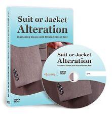 Suit - Jacket: Shorten Sleeve with Mitered Corner Vent DVD (Education, Fashion)