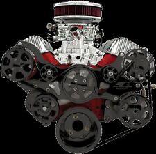 Tru Trac Serpentine pulley belt chevy chevrolet billet specialty 348 409 engines
