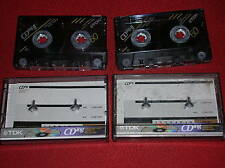VINTAGE  2 AUDIO CASSETTE  TDK CDing-II 60  TYPE II  HIGH  POSITION ( ANNI '90 )
