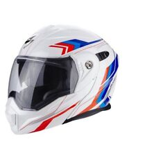 Scorpion Casco Moto Adx-1 anima White/red/blue M (i6v)