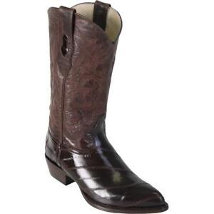 Men's Los Altos Genuine Eel J Toe Boots Handcrafted