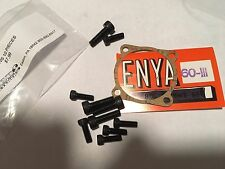 ENYA .60III 7033 ALLEN TYPE SCREWS & GASKET NIP