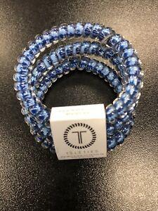 Brand New Teleties 3 Pack Small Hair Ties Groovy Baby  Holder Bracelets