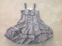 S&D Girls Checked Dress
