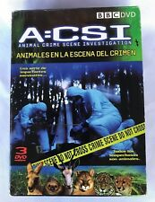BBC- A:CSI- Animal Crime Scene Investigation Serie 3 DVD'S