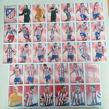 Atlético de Madrid lot 33 cards diferentes Las fichas de La Liga 2015