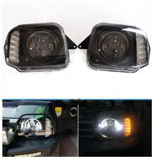 LED Angel Eye Projector Headlight For Suzuki Jimny 1998-2017 JB23 JB33 JB43 JB53