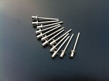 12 x gas tight stainless steel rivets 4.8mm x 9.5mm for re-packing your exhaust