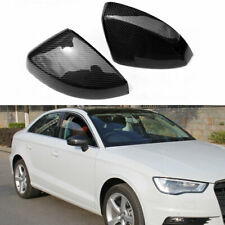 Audi A3 8V Carbon wing mirror Cover caps Replacement For 2013-2018 A3 S3 RS3