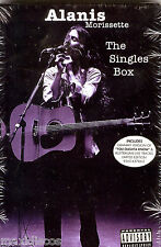 CDSx5 BOX - Alanis Morissette - The Singles Box (ROCK) MINT, SEALED * PRECINTADO