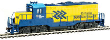 Walthers Trainline HO Scale EMD GP9M Ontario Northland/ON (Yellow/Blue) #1600