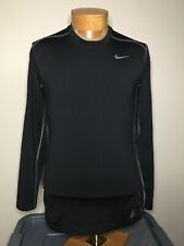 Nike Pro Combat Hyperwarm Long Sleeve Fitted Shirt Athletic Men's Sz M