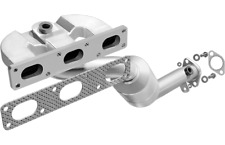Magnaflow Exhaust Manifold with Integrated Catalytic Converter for 01-05 BMW