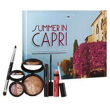 Laura Geller Summer in Capri 5 pc Set Bronzer Mascara Eyeshadow Lip Gloss Brush