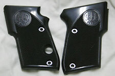 New Beretta Factory Model 21 or 21A Bobcat & Older Tomcat Black Plastic Grips
