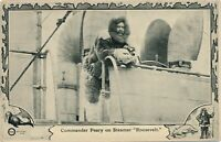 Commander Robert Peary on Steamer Roosevelt – American Arctic Explorer