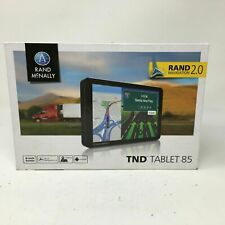 """Rand McNally TND TABLET 85, 8"""" Truck GPS, Android Tablet, & Built-In Dash Cam"""