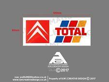 Citroen Total Rear Windscreen Sticker in Colour XM, BX, CX, 2CV, AX, GSA, VISA