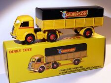 Truck Panhard + semi-trailer CALBERSON - ref 32 YEAR / 32AN dinky toys atlas