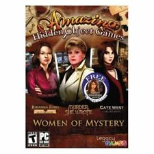 Amazing Hidden Object Games Women Of Mystery Brand New Fast Ship (SF-0019)