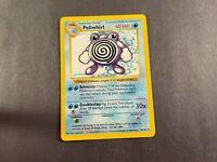 Poliwhirl Base Set Shadowless Non Holo 38/102 - Pokemon Unommon Near Mint