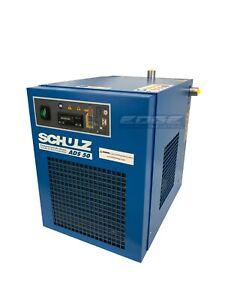 SCHULZ 50 CFM REFRIGERATED COMPRESSED AIR DRYER, 10HP & 15HP COMPRESSORS, 115V