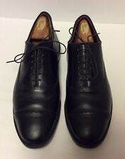 Allen Edmonds Fifth Avenue Cap Toe Black Leather Oxford Sz 8 E