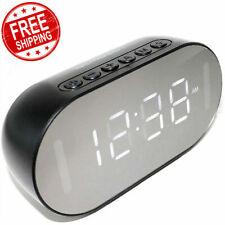 Emerson Digital Dual Alarm Clock Fm Radio W/ Bluetooth Speaker Led Large Display