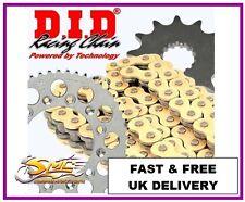 DERBI SENDA 50 SM DRD PRO 2006-14 DID GOLD OE Chain & Sprocket Kit **FREE LUBE**
