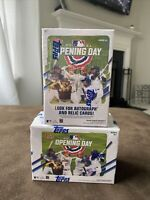 2-boxes Lot! - 2021 Topps Opening Day Baseball -Blaster Box New FACTORY SEALED🔥