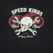 Vintage Harley Davidson Road Rebel Tee Shirt size L/Xl soft thin Distressed rare