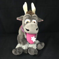 Disney Store Exclusive Frozen Sven 14 in Holiday Plush Toy Doll Snowflake Tongue