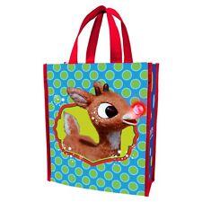 RUDOLPH - REUSABLE SHOPPING TOTE / GIFT BAG - CHRISTMAS 65273