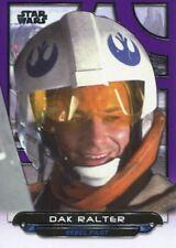 Star Wars Galactic Files Reborn Purple Parallel Base Card ESB-14 Dak Ralter