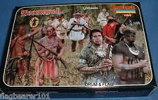 STRELETS SET M 107. TECUMSEH. SHAWNEE WOODLAND INDIANS, WAR OF 1812.  1/72 SCALE