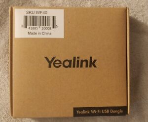 OEM NEW Yealink WF40 WiFi USB Dongle for T41 T42 T27 T29 T46G T54 IP SIP Phone