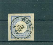 Briefmarken aus dem deutschen Reich (1872-1874) als Briefstück