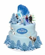 Frozen Eiskönigin Eßbar Tortenaufleger NEU Party Deko Muffinaufleger dvd Elsa