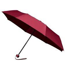 Señoras Minimax Supermini Paraguas Plegable Manual Resistente al viento-Borgoña