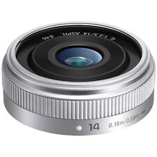 Panasonic Lumix G 14mm F2.5 Ii Hd Lente-Plata