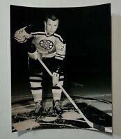 Ron Murphy #28 Boston Bruins Hockey NHL Photo File 8x10 Unsigned Glossy Pic