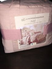 Lauren Conrad Isabel Blush Pink Twin Duvet Cover Set rose 🌹 Ruffle Dorm Bedding