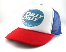 Dilly Dilly Trucker Hat mesh hat snapback hat RWB new adjustable Bud Light beer