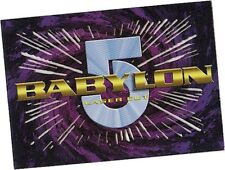 Babylon 5 Series 2: L2 Laser Cut Chase Card - Fleer 1996