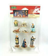 Lemax Village Collection Christmas Nativity Figurines