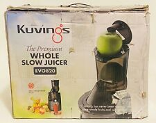 Kuvings Whole Slow Juicer EVO820GM - Higher Nutrients and Vitamins, BPA-Free
