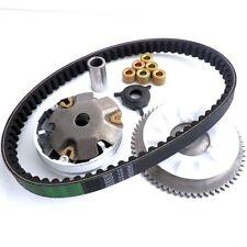 Variomatikgewichte Set Kit komplett + Keilriemen für 50ccm 4-T  Rex RS 450 460
