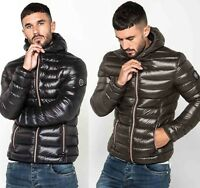 883 Police Mens New Hooded Padded Duckdown Puffer Warm Designer Bomber Jacket