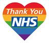 NHS Heart Iron on Transfer Logo for TSHIRTS POLOS SHORTS Personalised DIY